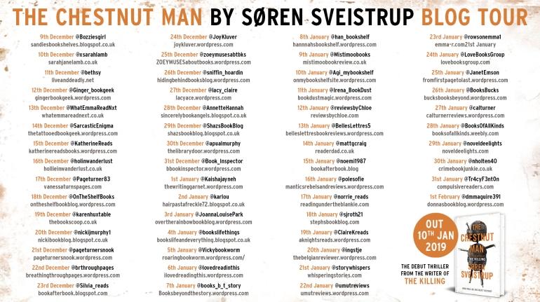 the chestnut man blog tour banner final